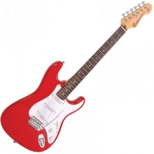 Electric Guitar Encore E6 Red Lesson Deal